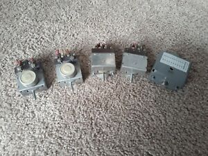 4 Aircraft Cockpit Micro Switches