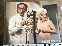 Barbara Windsor original hand signed photo Carry On 10 x 8