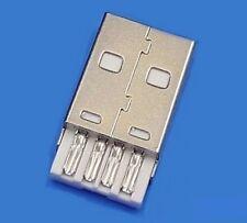 Connecteur à souder USB type A male / USB type A Male solder connector