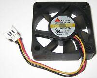 Y.S. Tech 50 mm x 15 mm Cooling Fan - 12 V - 17 CFM - 5500 RPM - 3 Pin Male Plug