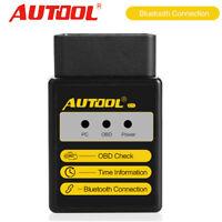 OBD2 II EOBD Protocols Code Reader Scanner Better For Bluetooth ELM327 AUTOOL C1