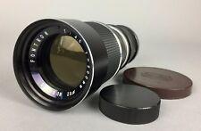 FONTRON f = 200 mm 1:45 appareil photo CANON objectif No.69468 photographie équipement accessoire