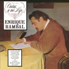 Enrique Rambal Cartas a mi hijo CD New Nuevo Sealed