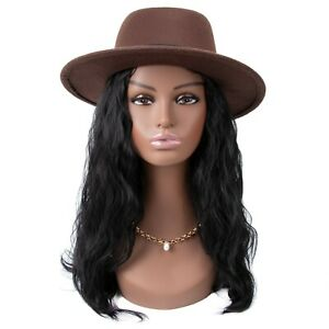 Realistic Mannequin Wig Head PVC Manikin Stand for Display Hair Mask PMH-487