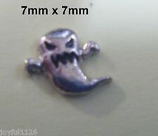 GHOST Alloy Floating Locket Charms for Glass Living Memory Lockets