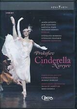 Prokofiev Cinderella Nureyev DVD NEW 2-disc Paris Opera Koen Kessels