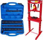 Werkstattpresse 20T Hydraulikpresse + Druckstücksatz 52-tlg. – Rahmenpresse