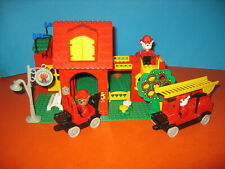 Lego Fabuland Haus 3682  Fire Station große Feuerwache 100 % Komplett 80er Jahre