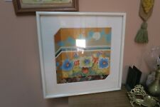 "Vintage Hand Stitched Finished Needlepoint Framed 13"" x 13"" - 21"" x 21"""