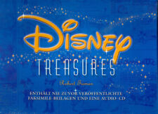 Disney Treasures  Hardcoverbuch mit Audio CD deutschsprachig - NEU