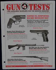 Magazine GUN TESTS Sep 2002 !CZ Model 52 7.62 PISTOL!, *IMBEL SPORTER Model 444*