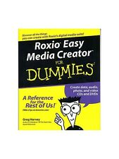 Roxio Easy Media Creator For Dummies Learn to Play Present Gift MUSIC BOOK