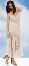 Shakuhachi Pastel Pink Avalon Lace Mash Mesh Dress NEW Size 10 / Medium RRP $390