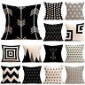 Fashion Home Decor Cotton Linen Throw Pillow Case Bed Sofa Waist Cushion Cover