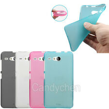 Soft Silicone Gel TPU Back Case Cover + LCD Film For Acer Liquid Various Phones