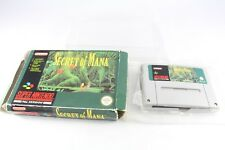 Snes Super Nintendo Secret Of Mana Pal Game No Instructions