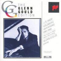 GLENN GOULD -GOLDBERG-VARIATIONEN BWV 988 (AUFNAHME 1955) CD 34 TRACKS BACH NEU