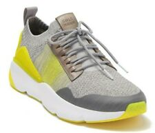 Cole Haan Zerogrand All Day Trainer Men's Sneakers Gray /Sulphur/ White Size 7.5