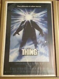 THE THING 3D Lenticular Print Drew Struzan Movie Poster RARE /300 1mm Vice Press