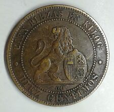 Espana SPAGNA - 1870 - DIEZ CENTIMOS