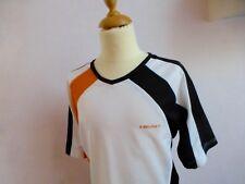 HEAD ♛ Kurzarm V-Neck T-Shirt Tennisshirt Sportshirt weiß schwarz 164 170 176 14