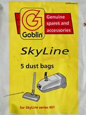 Goblin Skyline Vacuum Cleaner Dust Bag Pack of 5 Genuine Goblin