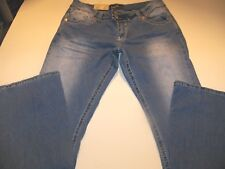 ANGELS STRETCH FLARE JEANS JUNIOR SIZE 1 REGULAR NWT