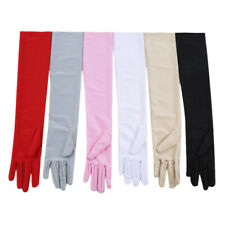 Summer Unisex Long Gloves Arm Protector Foldable Sun Protection HY