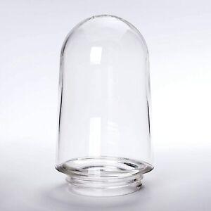 Paralume in vetro di ricambio trasparente, struttura filettato,...
