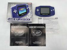 Nintendo Gameboy Advance Konsole AGB-001 Lila in OVP