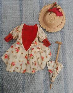 Ancien costume robe chapeau BB d'époque début XXème !