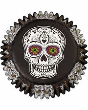 Skull Day of the Dead Halloween Baking Cups 75 ct from Wilton #3177 - NEW