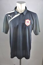 Cardiff City FC maillot taille L Training Polo PUMA noir