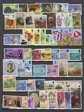Jersey Higher Value stamps fine used, collection of 50 different