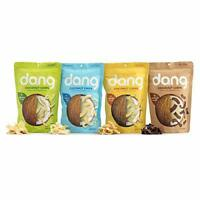 DANG Toasted Coconut Chips | Variety | 4 Pack | Vegan, 3.17 Ounce (Pack of 4)