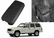 Tire Tread Armrest Center Console Cushion Cover For 1997-2001 Jeep Cherokee XJ