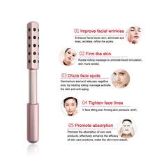 Double-headed Facial Massage Roller Germanium Facelift Sagging Skin Weight Loss