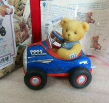 Cherished Teddies You Make My Heart Race Teddy in Car Hot Rod Ken Figurine