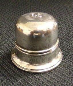 Vintage Birks Regency Plate Double B Ring Box