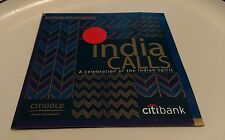 Citibank NRI Business INDIA CALLS Celebration Of The Indian Spirit CD Shaan RARE