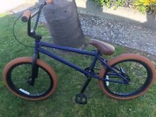Cult 20.5� Bmx Bike Purple With Brown Tires - Local Pickup Only