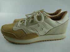 Saucony Originals Women US 8 Brown Gray Suede Sneakers Trainer Running Shoes