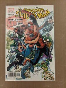 AMAZING SPIDER-MAN #500 J.Scott Campbell  Marvel 2003 VF/NM