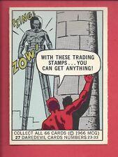 1966 DONRUSS Marvel Superheroes #27 DAREDEVIL