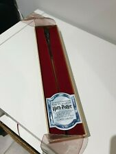 "Very Rare Retired Neville Wand in ""Ollivander"" Box Noble Collection"