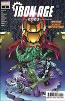 2020 Marvel Comics Iron Age 2020 #1 Main Cover Cory Smith Tom DeFalco