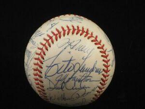 1988 Los Angeles Dodgers TEAM SIGNED Baseball
