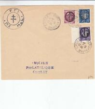 """1944, France, """"RF"""" overprints on a F.F.I. cover, See Remark (M2002)"""