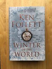 Winter Of The World - Ken Follett - First Edition 2012 - Hardback Book - 1st