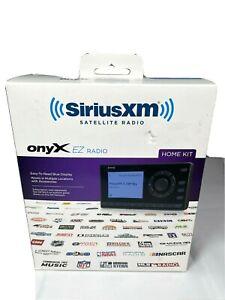 Sirius XM Satellite Radio Onyx EZ Dock and Play Radio With Home Kit XEZ1H1 NEW